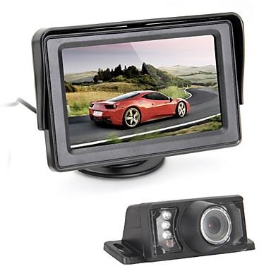 Caméra de recul - 510 x 492 - 420 Lignes TV - 120° - 1/4 pouce CMOS couleur haute définition