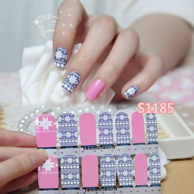 1pcs Nagelkunst sticker Schattig make-up Cosmetische Nagelkunst ontwerp