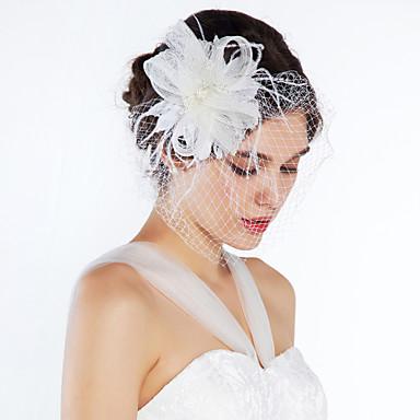 Kadın Çiçekçi Kız Tül Başlık-Düğün Özel Anlar Günlük Çiçekler