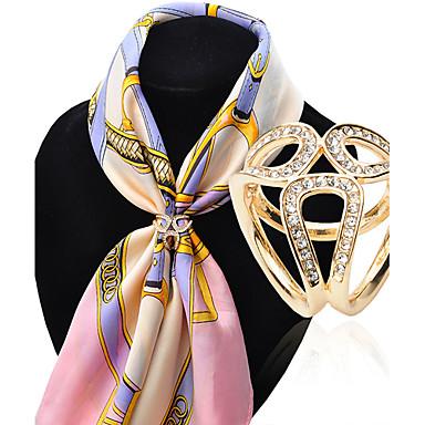 Dames Broches Luxe Modieus Gesimuleerde diamant Legering Sieraden Voor Bruiloft Feest Speciale gelegenheden Verjaardag Lahja Dagelijks