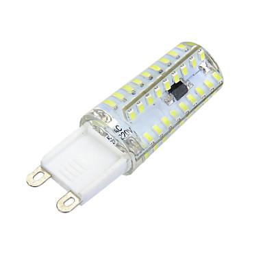 600-700 lm G9 Luminárias de LED  Duplo-Pin Encaixe Embutido 72 leds SMD 3014 Regulável Decorativa Branco Quente Branco Frio AC 220-240V