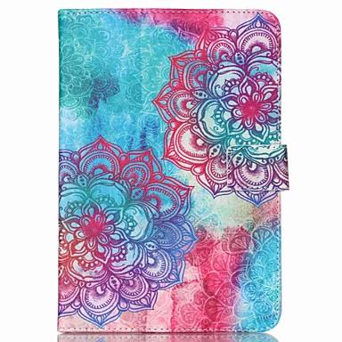 7-inch bloempatroon universele beugel beschermhoes voor de iPad mini 3/2/1/4