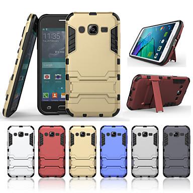 Για Samsung Galaxy Θήκη Ανθεκτική σε πτώσεις / με βάση στήριξης tok Πίσω Κάλυμμα tok Πανοπλία PC Samsung J2