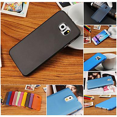 hoesje Voor Samsung Galaxy Samsung Galaxy hoesje Ultradun Achterkant Effen Kleur PC voor S6 edge plus S6 edge S6 S5 Mini S5 S4 Mini S4 S3
