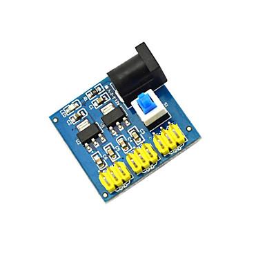 multiple-output DC-DC voltage converter module / 12V schakelen 3,3 / 5 / 12V voedingsmodule - blauw