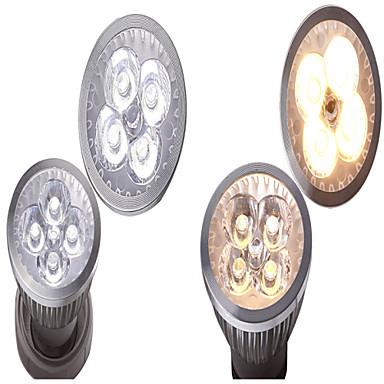 GU10 GU5.3 (MR16) E26/E27 LED-spotlampen MR16 4 SMD 400 lm Warm wit Natuurlijk wit K Decoratief AC 12 V