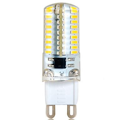 ywxlight® 6w g9 led bi-pin lights 72 smd 3014 500-550 lm branco quente branco frio branco decorativo 220-240 v