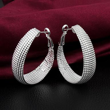 Γυναικεία Κρεμαστά Σκουλαρίκια Ασήμι Στερλίνας Κοσμήματα Ασημί Γάμου Πάρτι Καθημερινά Causal Κοστούμια Κοσμήματα