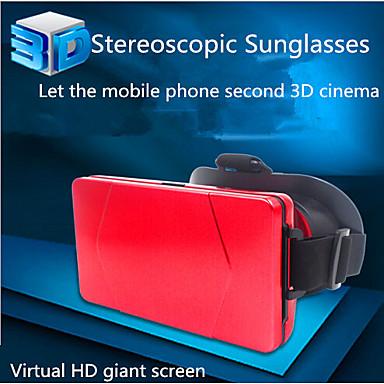 3d espelho B8 vr telefone móvel jogo de simulação inteligente realidade virtual óculos capacete de teatro