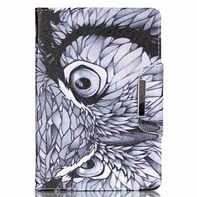 padrão padrões coruja pu caso tablet para iPad (2017) Pro10.5 Pro9.7 iPad Air Air2 iPad234 mini 1234