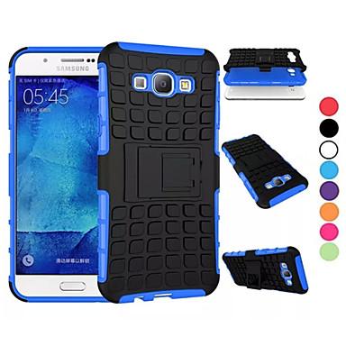 Para Samsung Galaxy Capinhas Antichoque / Com Suporte Capinha Corpo Inteiro Capinha Armadura PC Samsung A8 / A7 / A5 / A3