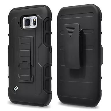 Недорогие Чехлы и кейсы для Galaxy S4 Mini-Кейс для Назначение SSamsung Galaxy S6 Active / S4 Mini Водонепроницаемый / Защита от удара / Защита от пыли Кейс на заднюю панель броня ПК