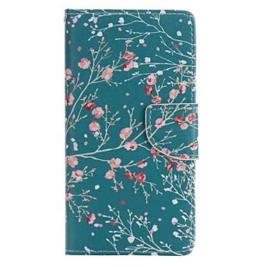 Capinha Para Huawei P8 Huawei Huawei P8 Lite Capinha Huawei Carteira Porta-Cartão Com Suporte Flip Corpo Inteiro Árvore Rígida Couro