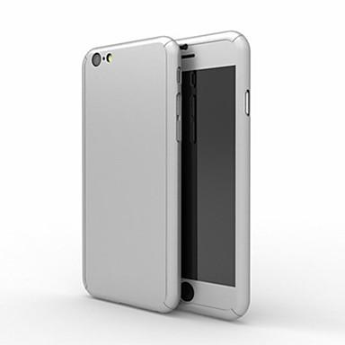 hoesje Voor Apple iPhone 8 iPhone 8 Plus iPhone 6 iPhone 6 Plus Schokbestendig Volledig hoesje Effen Kleur Hard PC voor iPhone 8 Plus