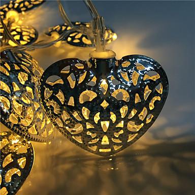 hol uit 10 lamp, smeedijzeren liefde 2 accubak lamp serie