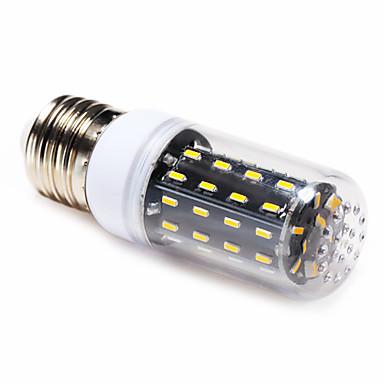 4W 3000-6000 lm E14 E26/E27 LED 콘 조명 T 56 LED가 SMD 4014 따뜻한 화이트 내추럴 화이트 AC 220-240V