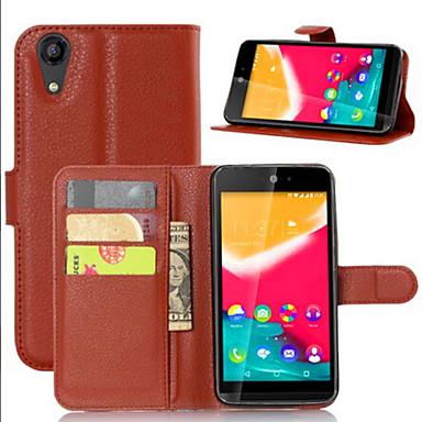 Capinha Para Wiko Capinhas Wiko Porta-Cartão Com Suporte Flip Capa Proteção Completa Sólido Rígida PU Leather para