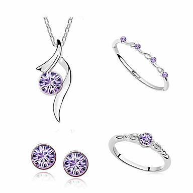 Sieraden Kettingen / Oorbellen / Ringen / Armband Dagelijks / Causaal Legering 1 Set Dames Giften van het Huwelijk