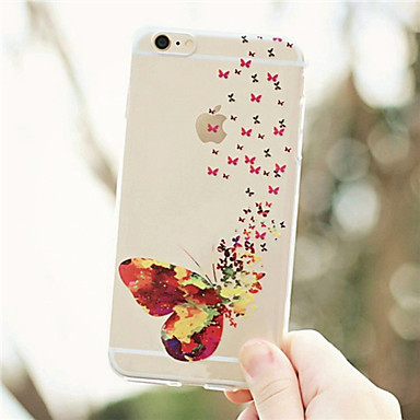 decorativo Custodia Per Morbido Fiore retro Custodia X 04754692 disegno Fantasia iPhone Apple 5 Transparente iPhone Per iPhone iPhone per X TPU 8 rZqrgAd