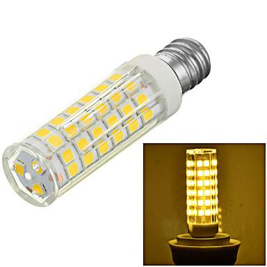 E12 led corn lights b 75 smd 2835 600-700lm branco quente branco frio 3500k / 6500k decorativo ac 220-240v