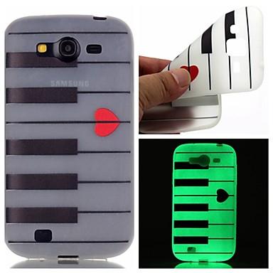 Voor Samsung Galaxy hoesje Glow in the dark / Patroon hoesje Achterkantje hoesje Cartoon TPU SamsungOn 7 / On 5 / J3 / J1 Ace / Grand