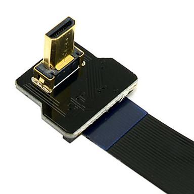 cy® turnup micro HDMI para cabo HDMI para fpv