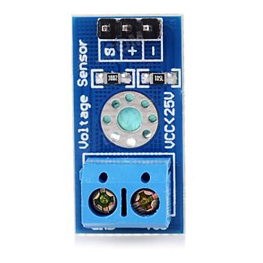 módulo placa do sensor de voltagem b25 para arduino - azul