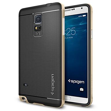 tok Για Samsung Galaxy Samsung Galaxy Note Ανθεκτική σε πτώσεις Πίσω Κάλυμμα Πανοπλία TPU για Note 4