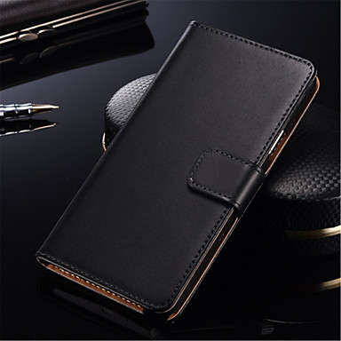 Case For Samsung Galaxy Samsung Galaxy Case Card Holder Flip Full Body Cases Solid Color Hard PU Leather for S7 edge S7 S6 edge plus S6