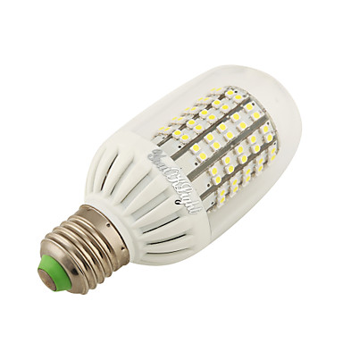 7W 600 lm E26/E27 LED-maissilamput 138 ledit SMD 3528 Lämmin valkoinen AC100-240