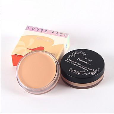 4 Concealer/Contour Nat Kaki Concealer / Donkere kringen behandeling / Tegen acné / Sproeten / Anti-rimpelOgen / Gezicht / Lippen /