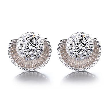 Oorknopjes Sterling zilver Imitatieparel Sieraden Voor Bruiloft Feest Dagelijks Causaal Sport 1 stuks