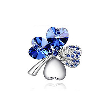 Women's - Crystal Fashion Brooch Red / Green / Blue For Wedding / Party / Daily
