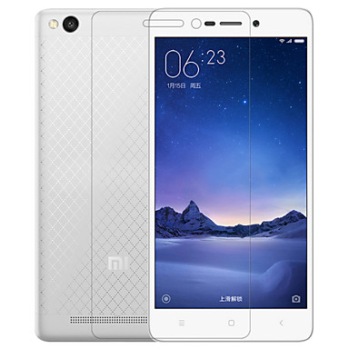 Screenprotector XIAOMI voor Xiaomi Redmi Note 3 Xiaomi Redmi 3 PET 1 stuks Ultra dun