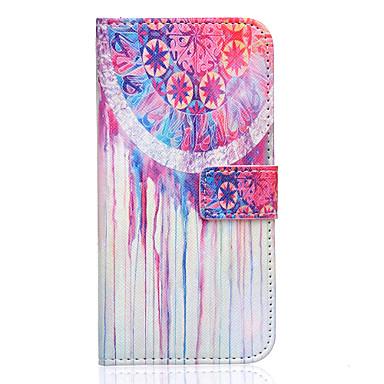 Voor Samsung Galaxy hoesje Hoesje cover Kaarthouder Portemonnee met standaard Flip Volledige behuizing hoesje Dromenvanger PU-leer voor
