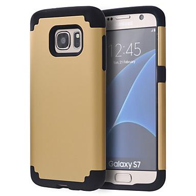 voordelige Galaxy S-serie hoesjes / covers-hoesje Voor Samsung Galaxy S8 / S8 Edge / S7 edge plus Schokbestendig Bumper Effen PC