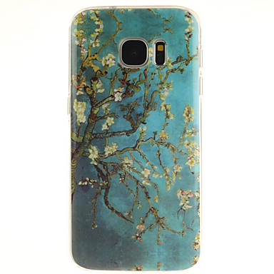hoesje Voor Samsung Galaxy Samsung Galaxy S7 Edge Patroon Achterkant Boom TPU voor S7 edge S7 S6 edge plus S6 edge S6