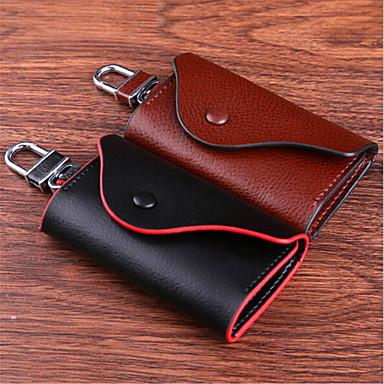 läder nyckel väska   läder bilnyckel väska   läder tangentknappen ... d36951760b767