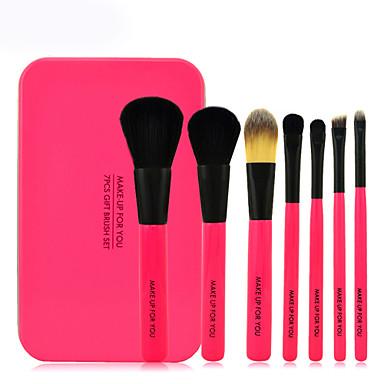 7 Brush Sets Synthetisch haar / Kwast van ponyhaar / Paard Beperkt bacterieën Gezicht / Lip / Oog MAKE-UP FOR YOU