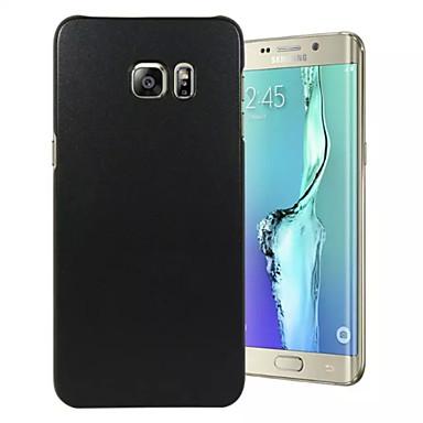 Para Samsung Galaxy S7 Edge Estampada Capinha Capa Traseira Capinha Cor Única PC SamsungS7 edge / S7 / S6 edge plus / S6 edge / S6 / S5 /