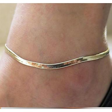 Ножной браслет - Мода Серебряный / Золотой Назначение Повседневные Жен.