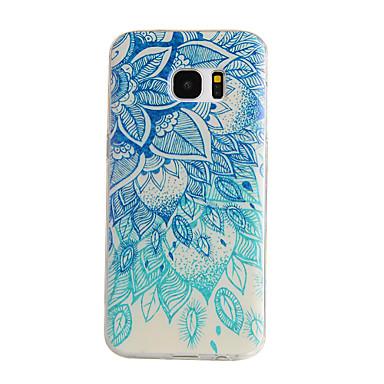 hoesje Voor Samsung Galaxy Samsung Galaxy S7 Edge Patroon Achterkant Mandala TPU voor S7 edge S7 S6 edge S6