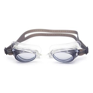 Zwembrillen Unisex Anti-condens Silicagel PC Zwart / Blauw / Wit Rood / Grijs / Blauw / Donkerblauw