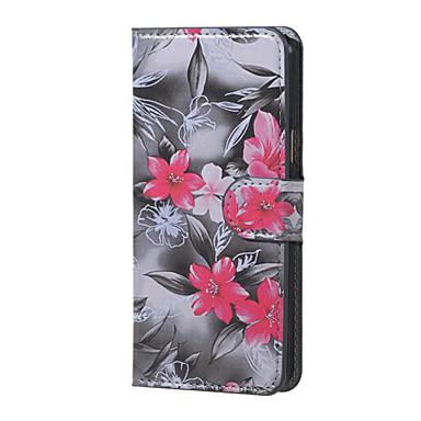 Para Samsung Galaxy Capinhas Case Tampa Com Suporte Flip Corpo Inteiro Capinha Flor Couro Ecológico para Samsung J5 (2016)
