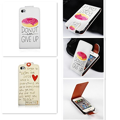coque pour iphone 5 apple coque iphone 5 clapet coque int grale mot phrase dur faux cuir pour. Black Bedroom Furniture Sets. Home Design Ideas