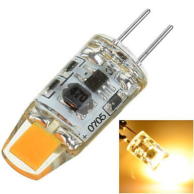 100-200 lm G4 Luminárias de LED  Duplo-Pin Encaixe Embutido 1 leds COB Decorativa Branco Quente Branco Frio AC 12V