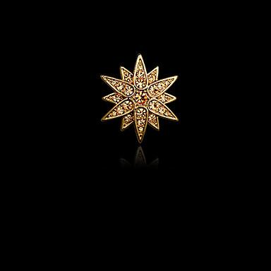 Heren Dames imitatie Diamond Legering Modieus Zilver Gouden Sieraden Bruiloft Feest Dagelijks Causaal