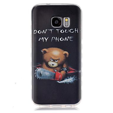 케이스 제품 Samsung Galaxy 삼성 갤럭시 케이스 패턴 뒷면 커버 카툰 TPU 용 S7 S6 edge S6 S5 Mini S5 S4 Mini S4 S3 Mini S3 S2