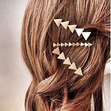 Dames Legering Haarclip Zilver Gouden