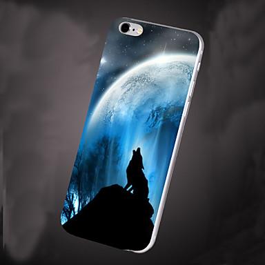 Para Capinha iPhone 6 Capinha iPhone 6 Plus Case Tampa Estampada Capa Traseira Capinha Cenário Macia PUT paraiPhone 6s Plus iPhone 6 Plus